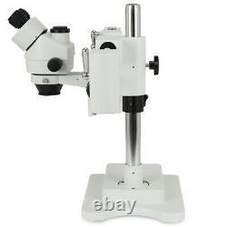 3.5x-90x Zoom Simul-focal Trinocular Stereo Microscope Set Objectif Barlow Lens