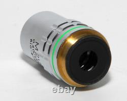 Akashi / Mitutoyo M20/0.40 Microscope À Infinité Objectif Lentille Bf Rms 810-618 20x