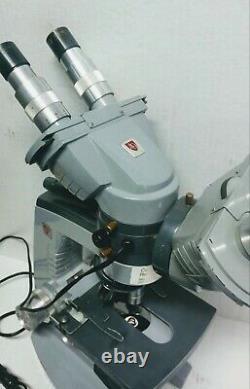 Ao Spencer American Optique 1036a Double Microscope 1036a Avec Objectif