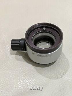 Carl Zeiss 200-300 Variofocal Varioskop 100 Objectif Objectif Pour Opmi Microscope