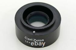 Carl Zeiss Opmi Sl 1.6x Objektiv Dslr Kamera Objectif Microscope Adaption