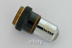 Carl Zeiss West Mikroskop Objektiv Plan 6,3x 160 Rms Objectif Microscope