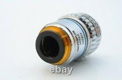 Ex Olympus Uvfl 40x 1,30 Huile 160 0.17 Microscope Objectif Objectif 20.25mm 21219