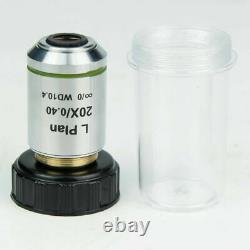 Infinity Long Working Distance Optica Objectif Lentille F Microscope Métallographique
