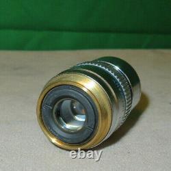 Leica Hc Pl Apo 63x/1.40-0.60 Huile / 0.17/e Objectif Microscope 506349