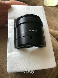 Leica Objective Planapo 1.6x, Mzapo/mz12 (part Item #10472650) Microscope À Lentilles