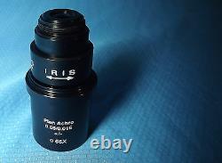 Leica Plan Achromat 0.66x Objectif Microscope Vidéo Objectif 20.32mm Rms Threads