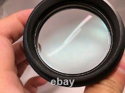 Leica Stéréo Microscope Auxiliaire Objectif Achro 0,5x 10450192 F/m60 M80 Etc.