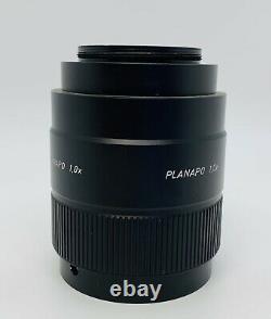 Leica / Wild 445355 Planapo 1x Microscope Objectif Lens Plan Apo Mz Series