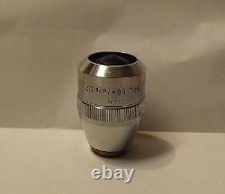 Leitz Microscope Objectif Lentille Npl Df 50x/0,75/0 Champ Sombre