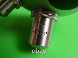 Leitz Wetzlar Microscope 4 Objectif Objectifs Nosepiece
