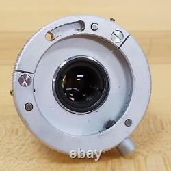Leitz Wetzlar Pl 8x/0.18, Objectif Du Microscope / Lentille Utilisée