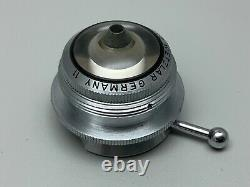 Lentille Objective Vintage Leitz Wetzlar 11 Microscope, Ultropak