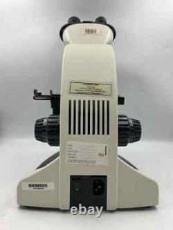 Microscope Binoculaire Leica Cme Avec 4x, 10x, 40x, 100x Objectif Huile