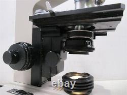 Microscope Binoculaire Nikon Sc Avec Oculaires Et 4 Objectifs Objectifs 100x 40x 10x 4x