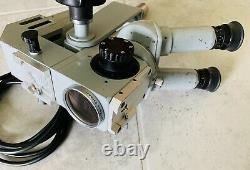 Microscope Chirurgical Zeiss Opmi-1 Avec Oculaires Et Objectif De 200mm