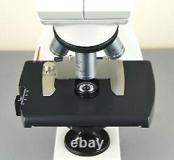 Microscope Leica DM 500 Avec Éclairage Led Intégré Et Objectifs De 4 Plans