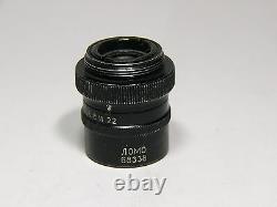Microscope Objectif Microplanaire F=40 14,5 Lentille Haute Résolution, Usine Lomo