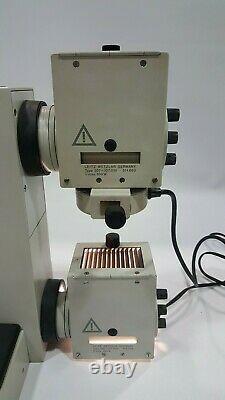 Microscope Orthoplan Leitz Wetzlar 100x. 50x. 40x. 10x. 4x Objectifs Objectifs