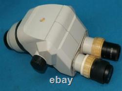 Microscope Sz Tête Avec Eyepiece Et Objectif Lens