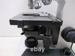 Microscope Trinoculaire Leitz Laborlux S Type 020-505.030 Avec Lentilles Objectives