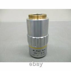 Mitutoyo 378-803-2 M Plan Apo 10 X 0,28 Microscope Objectif Objectif Japon Utilisé