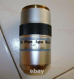 Mitutoyo Bd Plan Apo Sl50 Sl 50x Microscope Objectif Lentille 378-841 Livraison Gratuite