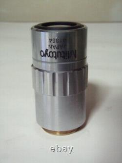 Mitutoyo Microscope Objectif Objectif Mplan Apo 2x 0.055 Limited Japon Lte386