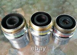 Nikon Bd Plan 5 DIC 10 DIC 20 Objectif Microscope