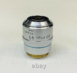 Nikon Bd Plan Elwd 40x/0.5 Objectif Microscope 210mm