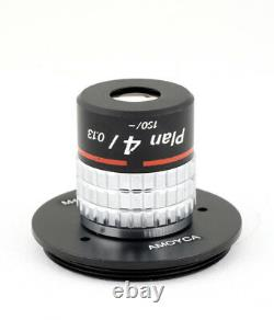 Nikon Cf N Plan 4/0.13 160/- Microscope Objectif Macrophoto Lens + M42