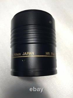 Nikon Hr Plan Apo 1x Wd54mm Objectif Objectif Microscope