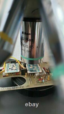Nikon Lu Plan 20x/0.45 A /0 Epi, Wd 4.5 Microscope Objectif Lentille