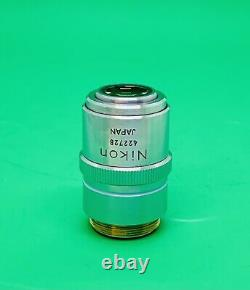 Nikon M Plan 40x/0,5 Elwd Microscope Objectif Objectif 210mm Extra Longue Distance