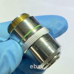Nikon Microscope Objectif Objectif M Plan 20 0.4 Elwd 210/0 Limited Japon Mte008