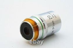 Nikon Microscope Objectif Objectif M Plan 20 0,4 Lwd 210/0 Pour 20.25mm 21962