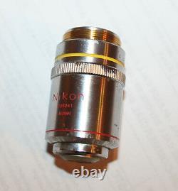 Nikon Ph1 Plan DL 10x /0,25 160/- Phase Objectif Microscope Contraste
