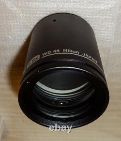 Nikon Stereo Microscope Objectif Objectif P-ed Plan 1.5x Mnh44150