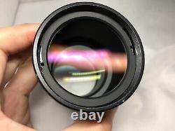 Nikon Stereo Microscope Objectif Plan Apo 0.5x Wd123mm Pour Smz800 1000 1500