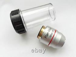 Nouvelle Lentille Objectif Microscope Achromatique Din Plan Ensembles 4x 10x 40x 100x