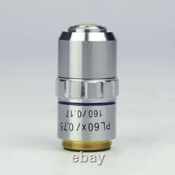 Objectif Achromatique Metal 195 Plan 4x 10x 40x 100x Pour Bio-microscope