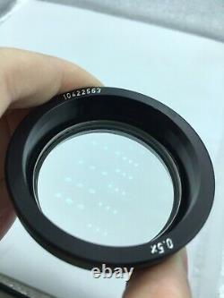 Objectif Auxiliaire Au Microscope Stéréo Leica 0,5x 10422563
