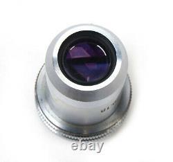Objectif Microscope Leitz Wetzlar Allemagne Pl 8x/0.18 Verre Optique Infinity