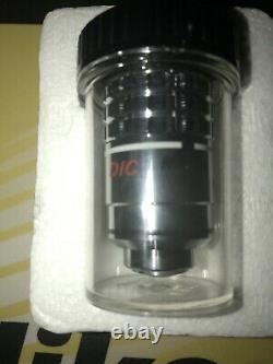 Objectif Microscope Nikon Cf Plan Achromat DIC 100x Pour Les Systèmes Finis