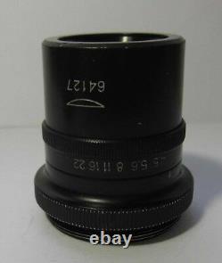 Objectif Objectif Microplanaire F=65 14,5 Microscope Lomo Carl Zeiss Micro Planar
