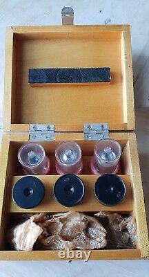 Objectif Objectif Soviet Vintage 8, 20, 20 X 0,40 Microscope Lomo Zeiss Rms