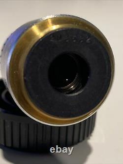 Objectif Olympus Microscope Objectif Dplan 20 0,40 160 / 0,17