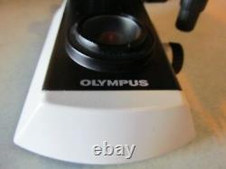 Oem Olympus Cx21 Microscope Modèle- Cx21fs1 (pas De Lentille Objective)