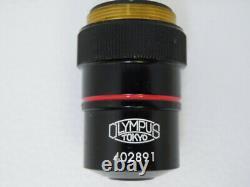Olympus 4x 0.16 Apo Apo Apochromatic Microscope Objectif Objectif Baril De Longueur Courte