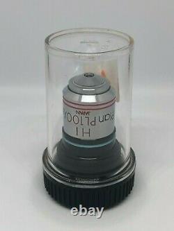 Olympus Hi Plan Pl100 / 1.25 Microscope Objectif Lentille